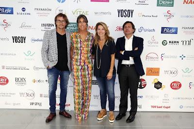 (de izquierda a derecha): Alejandro Abad, Lidia Codinachs (Co-Fundadora W360C), Mireia Rovira (Olis Bargalló) y Xavier Barbany.