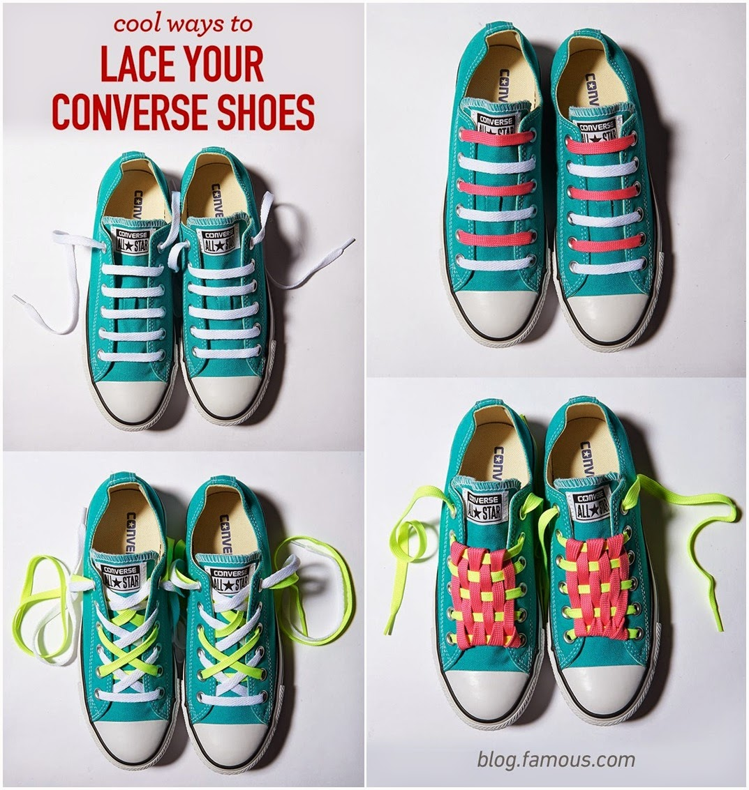 cool ways to tie shoelaces k