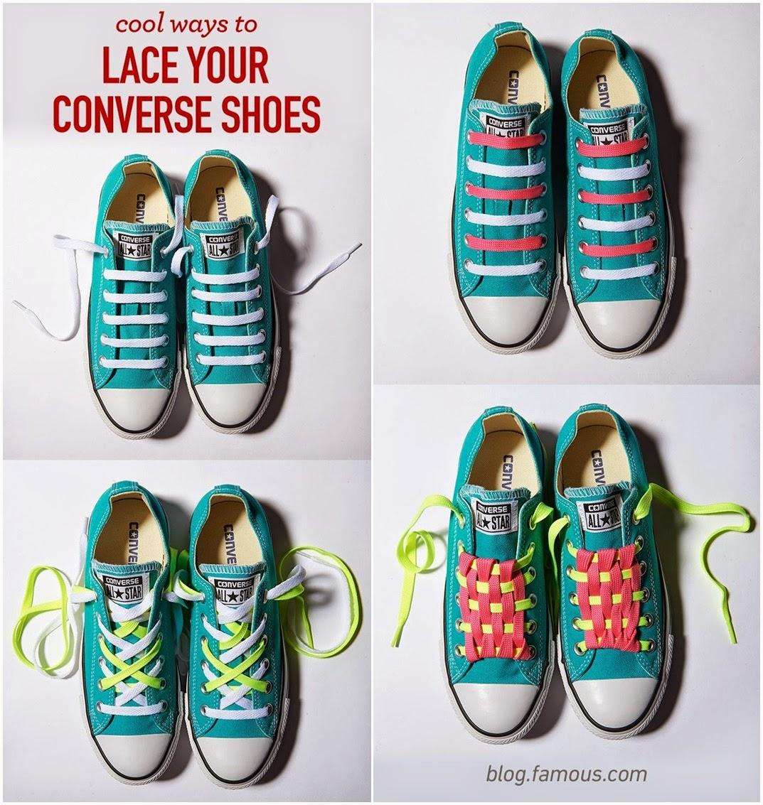 cool ways to tie shoelaces k