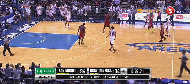Ginebra eliminates San Miguel, 104-84 (REPLAY VIDEO) September 27 / Quarterfinals