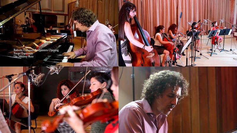 Roberto Carcassés & Quinteto Opening - ¨Tango Esperanza¨ - Videoclip - Dirección: Mildrey Ruiz. Portal del Vídeo Clip Cubano