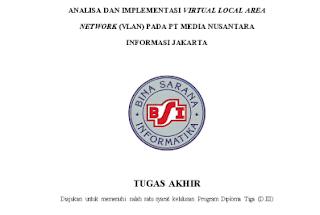 vlan, tugas akhir teknik kompurter, laporan TA teknik komputer