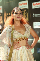 Apoorva Spicy Pics in Cream Deep Neck Choli Ghagra WOW at IIFA Utsavam Awards 2017 86.JPG