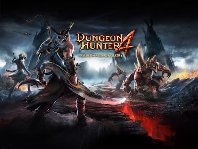 Download Game Android Gratis Dungeon Hunter 4 apk + obb
