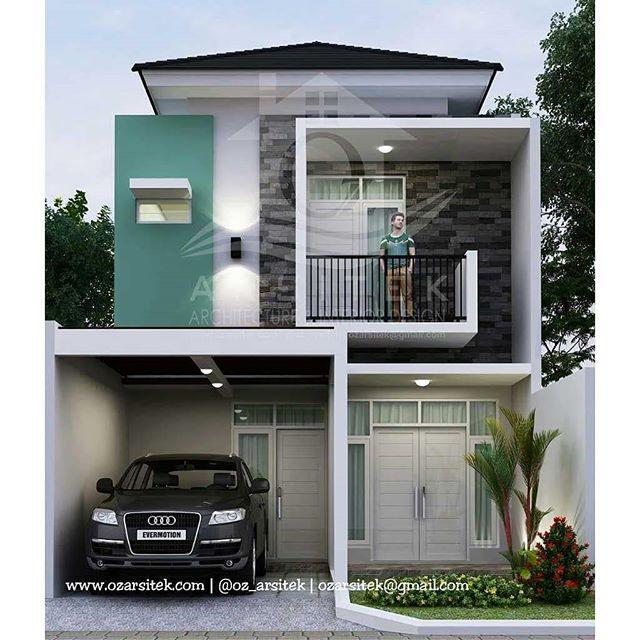 Desain Rumah Sederhana Dengan Biaya Murah Ukuran 5 X 10 - Rumah Inspirasi Dan Informasi Sederhana