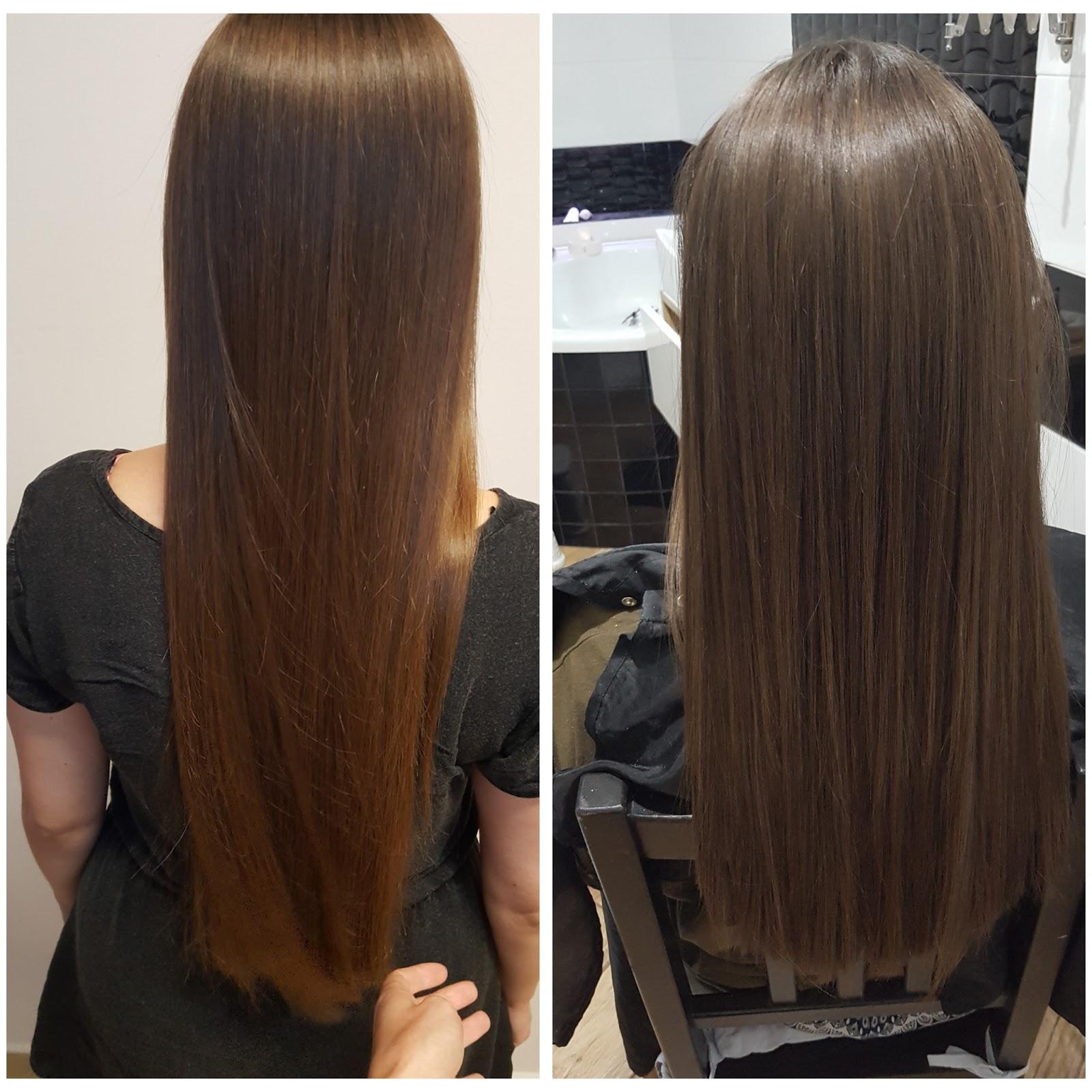 Oryginał Keratynowe prostowanie włosów GQ71