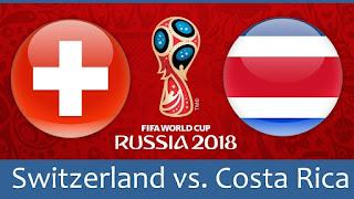 مشاهدة مباراة سويسرا و كوستاريكا في كأس العالم 2018 بتاريخ 27-06-2018 موقع ماتش لايف