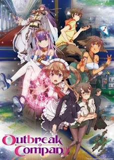 Outbreak Company - Anime fantasy terbaik 2013