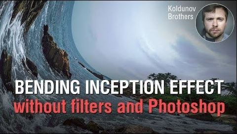 Bending Inception-like effect without filters and Photoshop. Features of the electronic shutter.