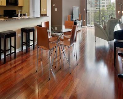 Sàn gỗ tự nhiên gam màu truyền thống