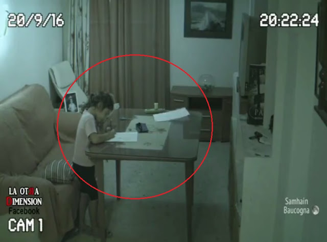 Ghost, Haunted, CCTV, Camera, Daughter, Father, Doll, Annoyed, Table, Paper, Video, Footage, Horror, Creepy, Kid, Child, House, Room, Paranormal Activity, Real ghost caught on camera,