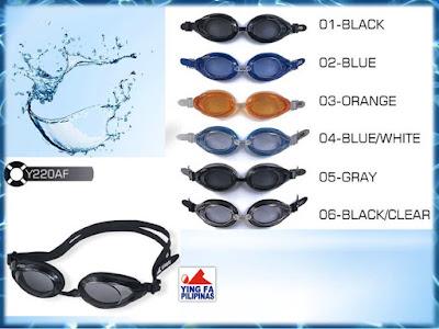 Bảng màu kính bơi Yingfa