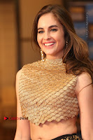 Actress Model Sarah Hopkins Latest Pos in Lehenga Choli at SIIMA Short Film Awards 2017 .COM 0195.JPG