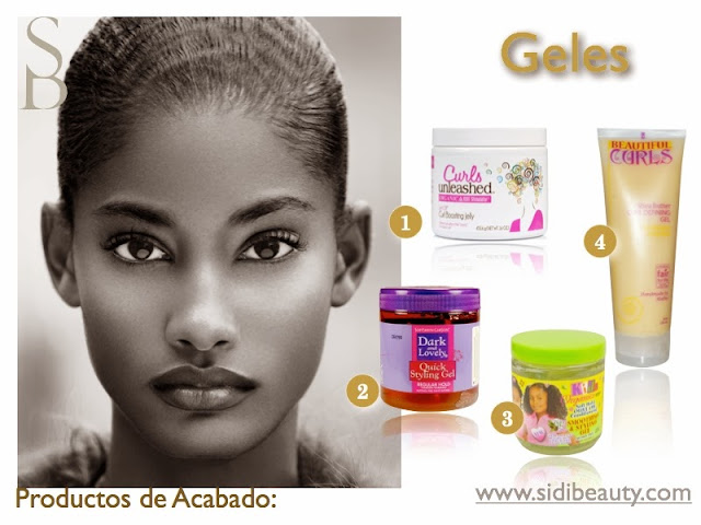 Gel definición Productos de Acababo Sidi Beauty