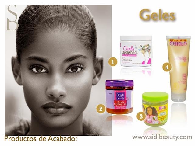 Gel definición Productos de Acababo Sidi Beauty