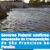 Governo Federal confirma suspensão da transposição do São Francisco na Paraíba