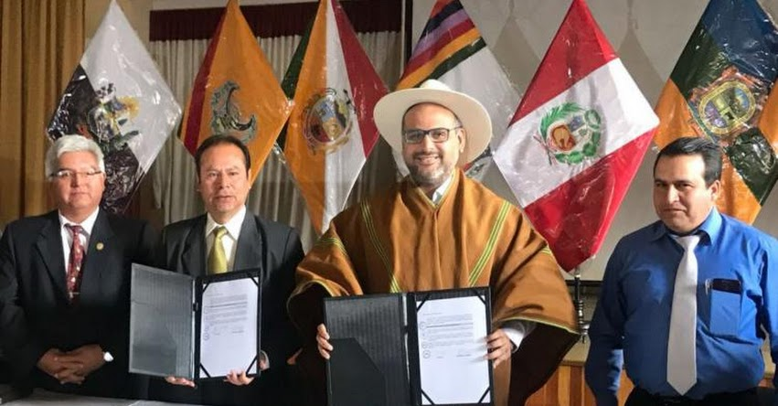 MINEDU: Ministro de Educación firma convenio para creación de instituto de excelencia en Apurímac - www.minedu.gob.pe
