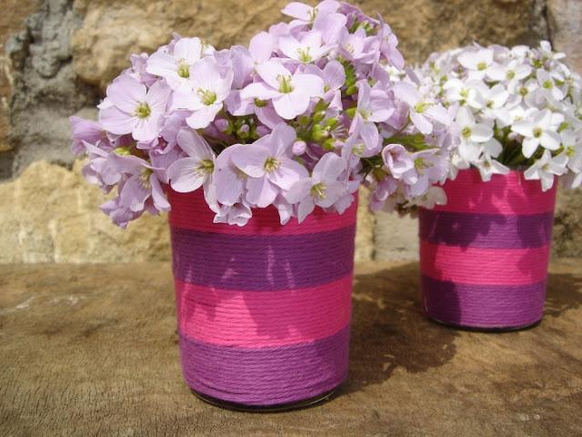 Moederdag bloemenvaasje