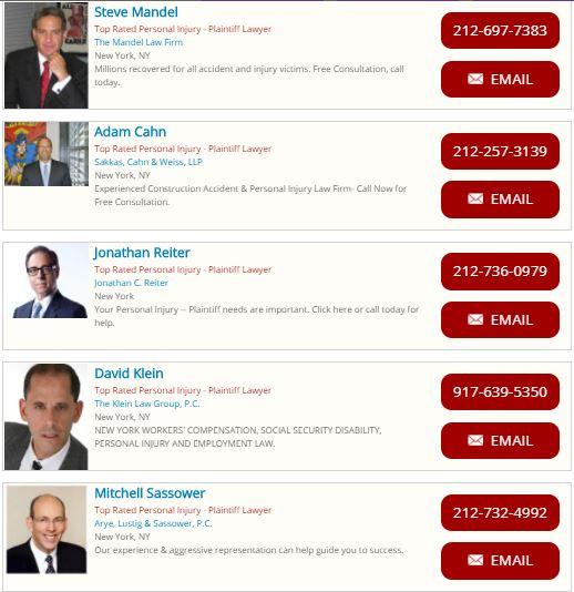 Top Car Accident Lawyers in NYC , California , San Bernardino - My