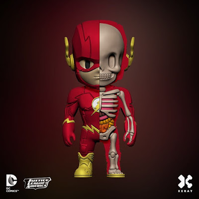 DC Comics XXRAY Dissection Series 2 Vinyl Figures by Jason Freeny & Mighty Jaxx - The Flash