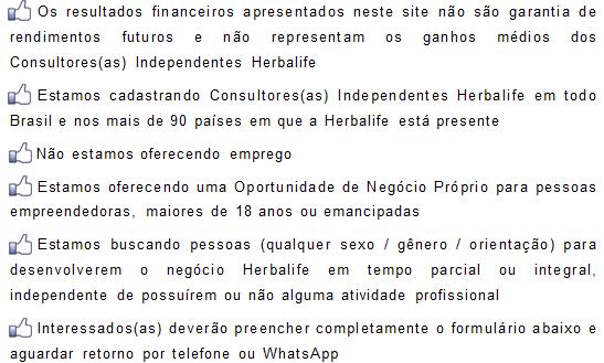 Consultor Herbalife