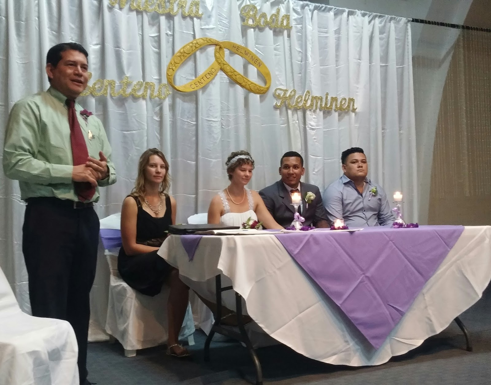 ... NICARAGUA FOR DARLENE HELMINEN'S WEDDING TO TOMAS ROJO..FEB. 13, 2016