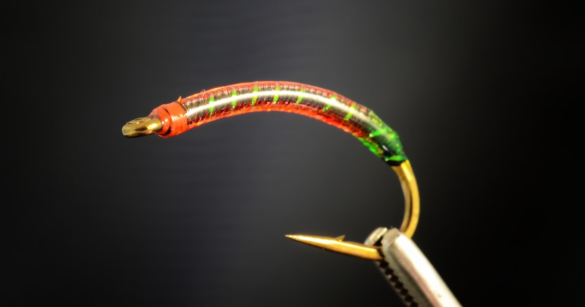 Fly Tying and Fly Fishing : The Gut-bomb Bloodworm