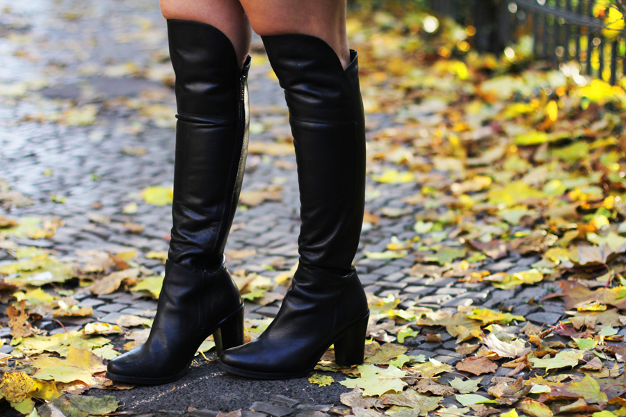 boots over knee trend