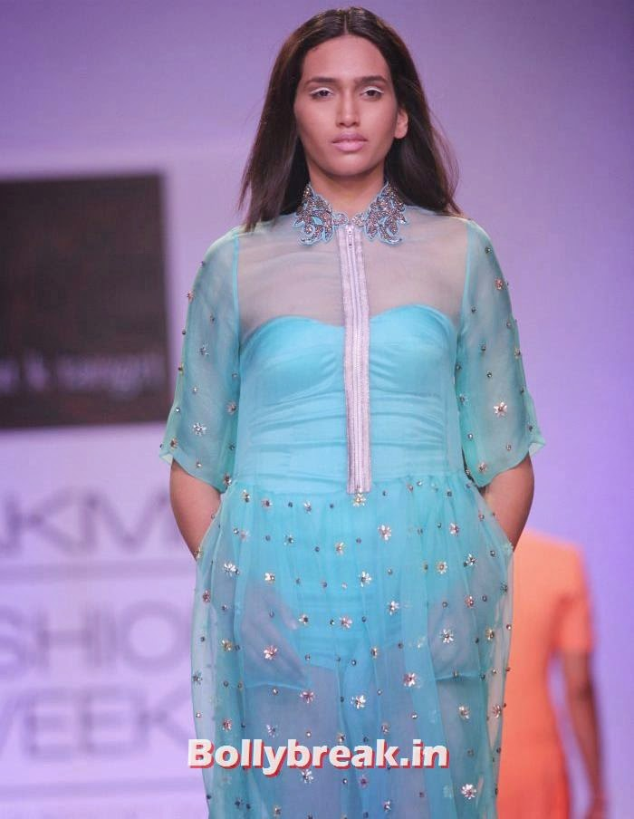 Rajat K Tangri Show at Lakme Fashion Week Summer/Resort 2014 Day - 4, Indian Supermodels Walk for Rajat K Tangri Show at Lakme Fashion Week