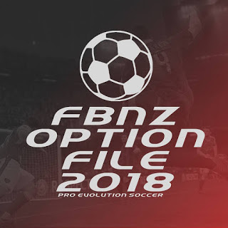 PES 2018 PS4 FBNZ Option File 2018 by Cristiano92