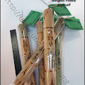 Undangan Bambu Gulung Plastik Kemasan