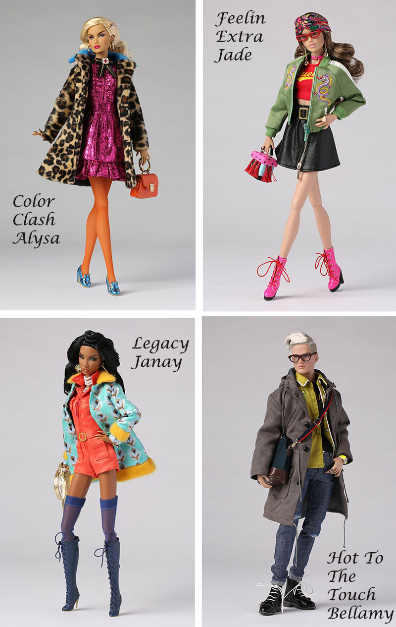 Fashion Royalty Integrity Toys Style Lab Miss Behave//Cherry Bomb jacket only