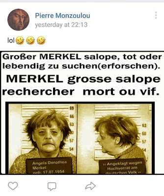 Pierre Monzoulou  Angela Merkel