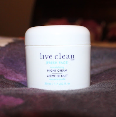 Live Clean Nourishing Night Cream