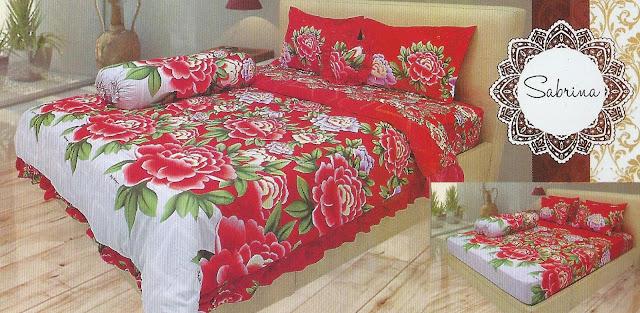 jual sprei lady rose murah surabaya, harga sprei lady rose di surabaya