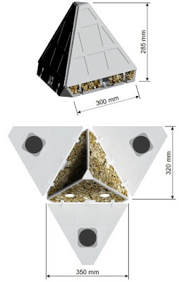 The PANIC lander's design as a proof-of-concept CAD-model. Image Credit: Schindler et al., 2011.