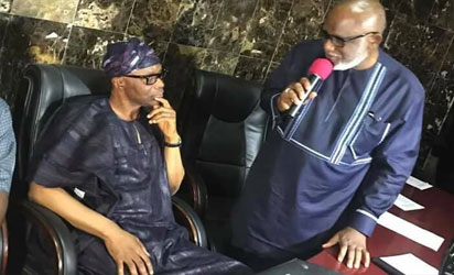 Peaceful transition in Ondo as Mimiko hands over to Akeredolu