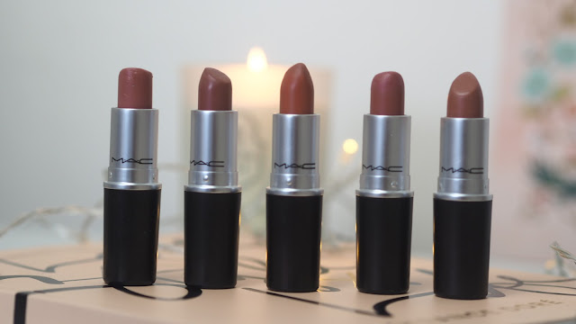 mac cosmetics lipsticks nudes
