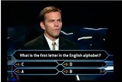 trolling in who wants to be a millionaire