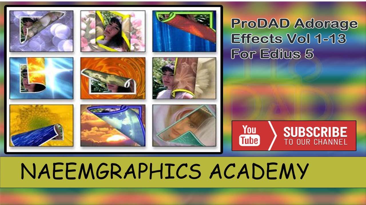 prodad adorage for edius 6