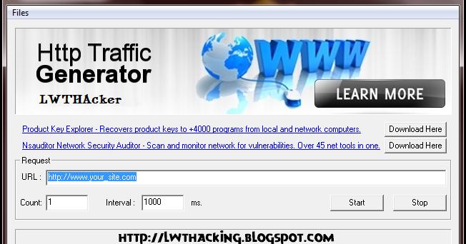 Traffic generator Bot free Download