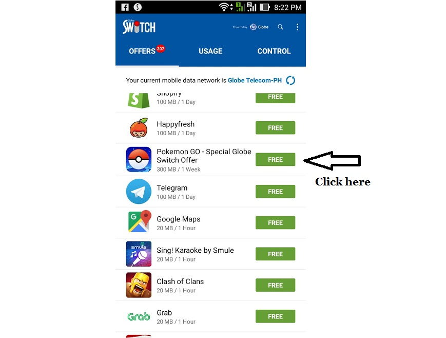 Free Pokemon Go Access for 1 Month from Globe - DugomPinoy