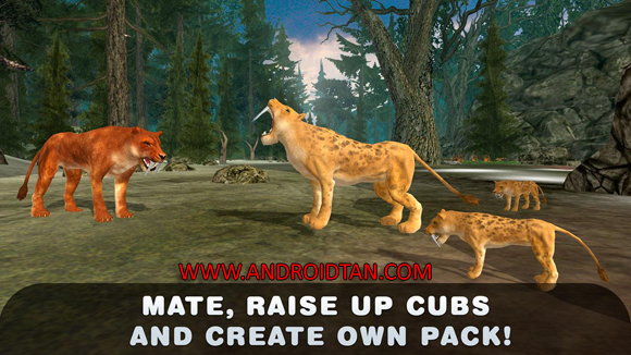 Life of Sabertooth Tiger 3D Mod Apk Free Download