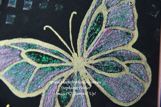 #thecraftythinker, #stampinup, #cardmaking, #wayswithembossingpaste, Beautiful Day, painting with embossing paste, Stampin' Up! Australia Demonstrator, Stephanie Fischer, Sydney NSW