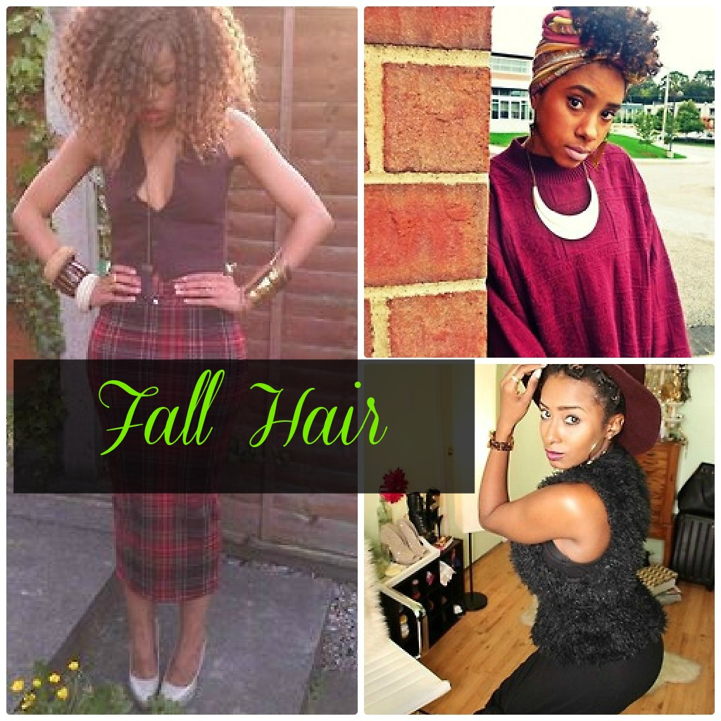 Fall Hairspiration for Natural Hair