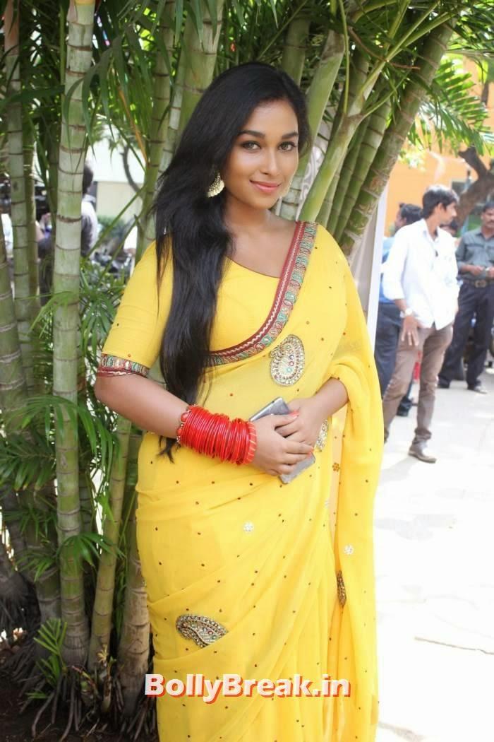 Swathi Unseen Stills, Kollywood Actress Swathi hot Pics in yellow Saree