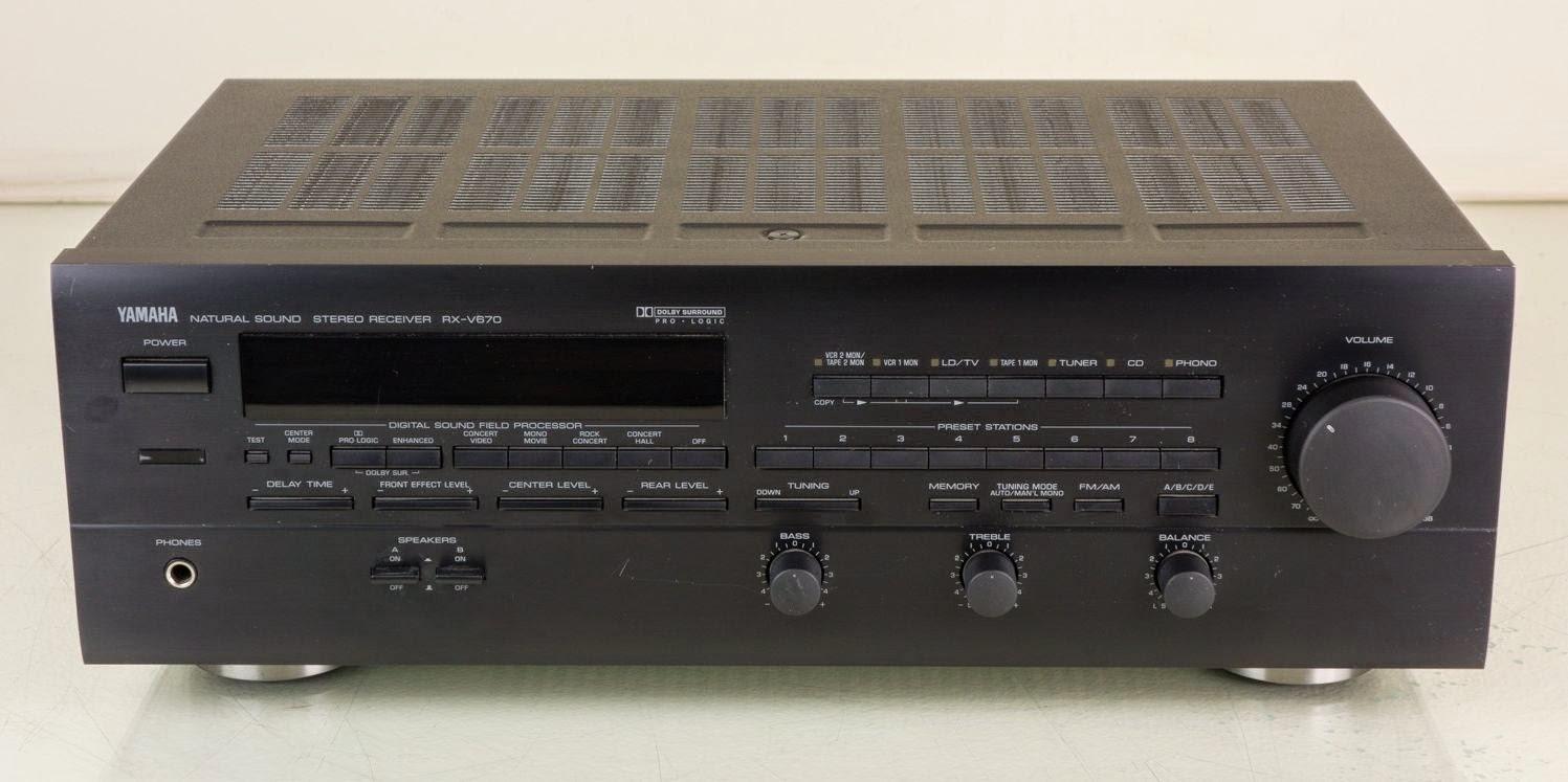 Service manual ampli Yamaha Rx