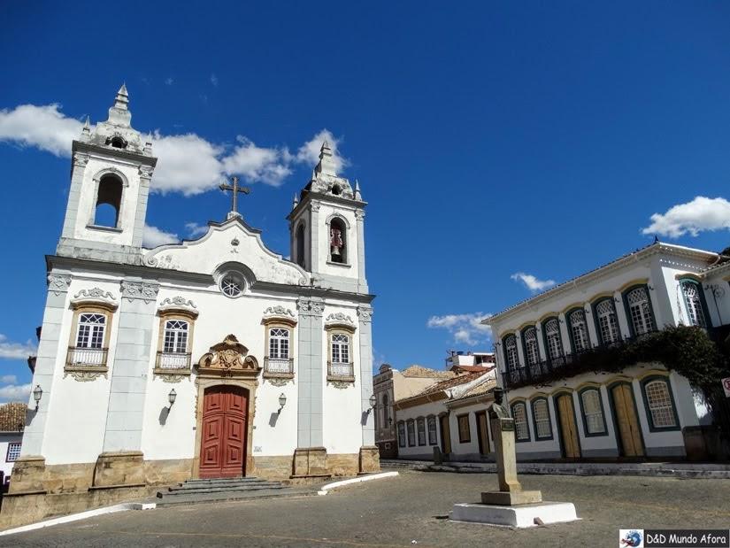 Igreja Nossa Senhora do Rosário - O que fazer em São João del Rei - Minas Gerais