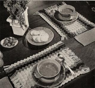 Vintage Placemats Crochet Pattern