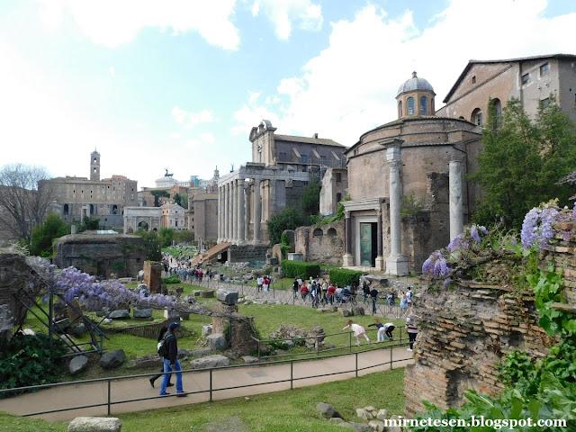 Римский Форум - Храм Ромула